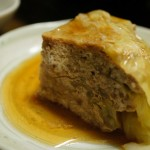 レンジで簡単!挽肉とキャベツの重ね蒸し クックパッドレシピ