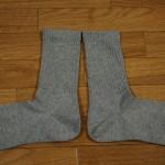 無印良品 足なり直角靴下の履き心地レビュー