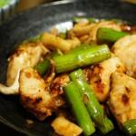 美味しい!鶏むね肉とアスパラの中華炒め クックパッドレシピ
