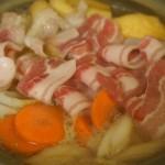 豚肉と白菜の味噌鍋がコクうまで美味しい!