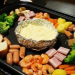 専用鍋不要!ホットプレート&アルミホイルで簡単チーズフォンデュ
