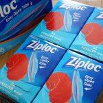 【コストコ】冷凍保存はやっぱりジップロックが優秀!たっぷり216枚で1袋約8円!
