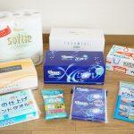 【株主優待】日本製紙からティッシュなど自社製品詰合わせ到着!